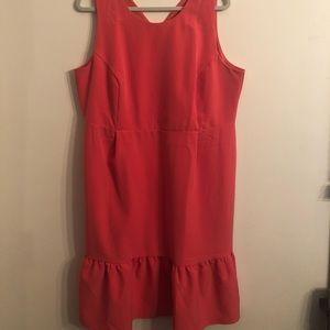ASOS Pink Plus Size Dress